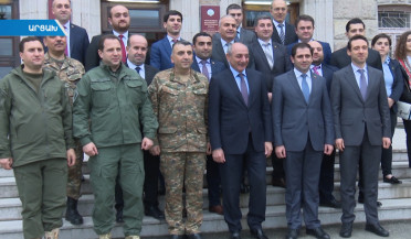 Government delegation visits Artsakh