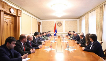 Armenian government delegation visits Artsakh
