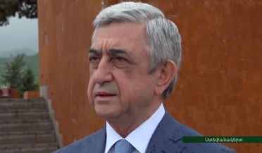 Serzh Sargsyan gives interview to Artsakh Public TV