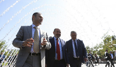 City's 2800th anniversary garden opens in Yerevan