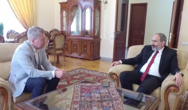 Armenian PM gives interview to РБК