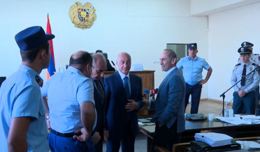 Current and former Artsakh presidents present at Kocharyan's trial