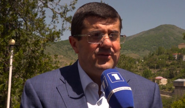 Arayik Harutyunyan puts forward his candidacy for Artsakh election