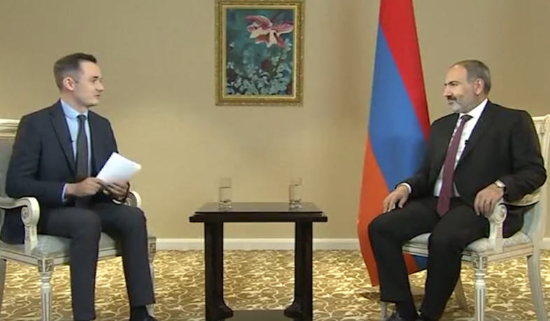 PM Pashinyan gives exclusive interview to Khabar-24