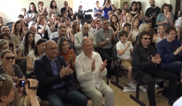 World-famous rock musicians visit Gyumri