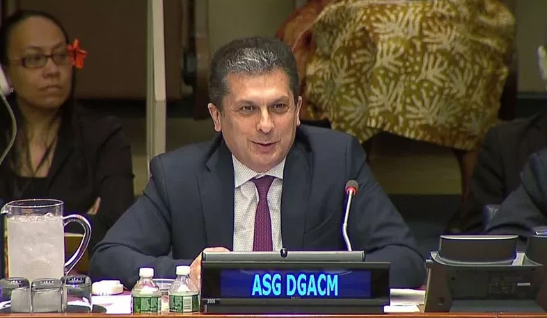 Movses Abelian appointed UN Under-Secretary-General