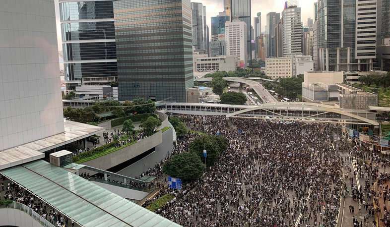International news: Protests continue in Hong Kong