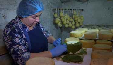 Arman Mikayelyan's cheese production reaches new heights