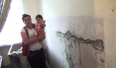 Vanadzor dormitory residents face numerous issues