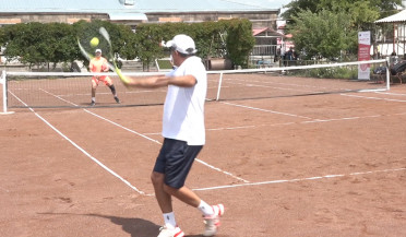 Gyumri hosts Amateur Tennis Championship