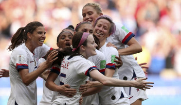 US wins Women's World Cup