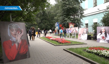 Apricot festival takes place in Moscow