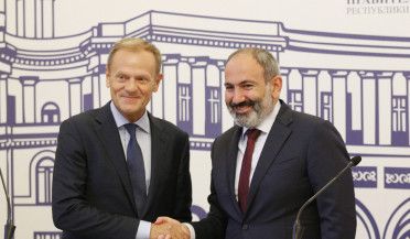 European Council President visits Armenia