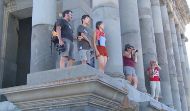 Number of tourists visiting Armenia grows