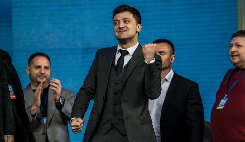 International news: Zelensky's party receives 44% of votes