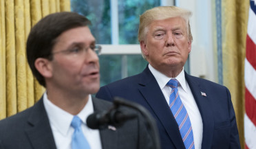 International news: Mark Esper sworn in as US Defense Secretary
