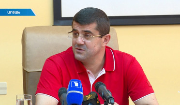 Arayuk Harutyunyan on Artsakh President election