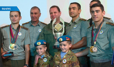 Armenia wins international army games