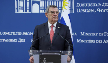 Uruguay Foreign Minister visits Armenia