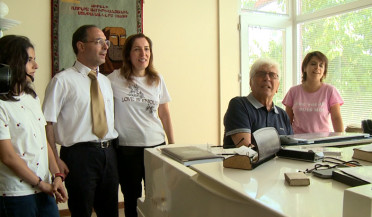 Family from diaspora visits famous composer