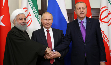 Putin-Rouhani-Erdogan meeting takes place in Ankara