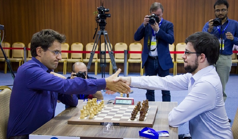 Levon Aronian vs Maxime Vachier-Lagrave match ends in draw