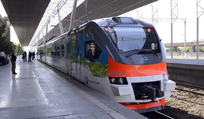 Yerevan-Tbilisi train to relaunch next month
