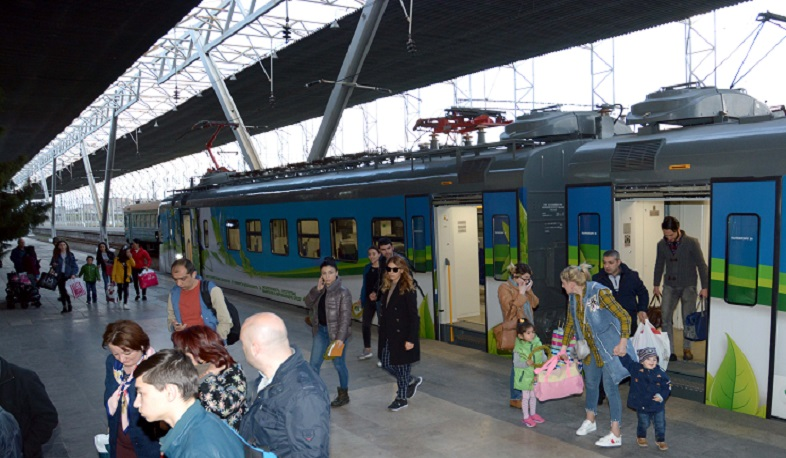 Southern Caucasian Railways passenger flow grows by 11%