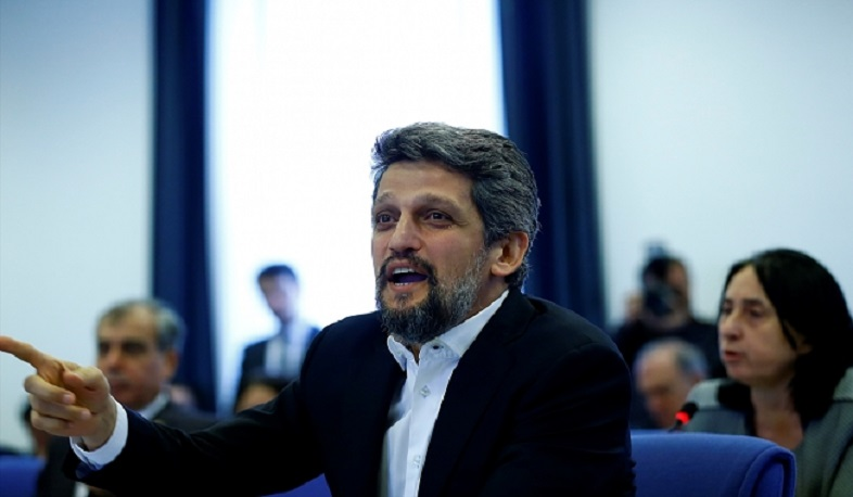 """Wishing for peace has become a crime in Turkey,"" says Paylan"