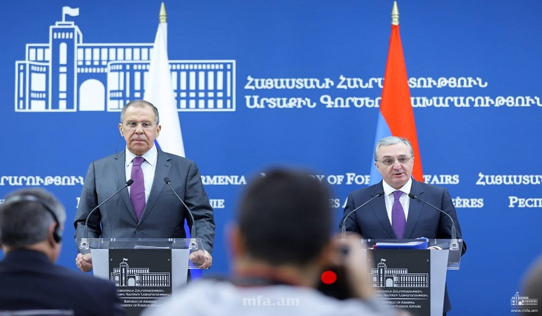"""Nagorno-Karabakh conflict settlement is impossible without Karabakh people,"" says Lavrov"