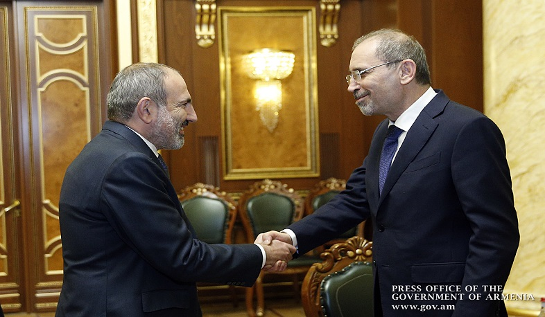 Armenia eager to develop relationship with Jordan, says Pashinyan