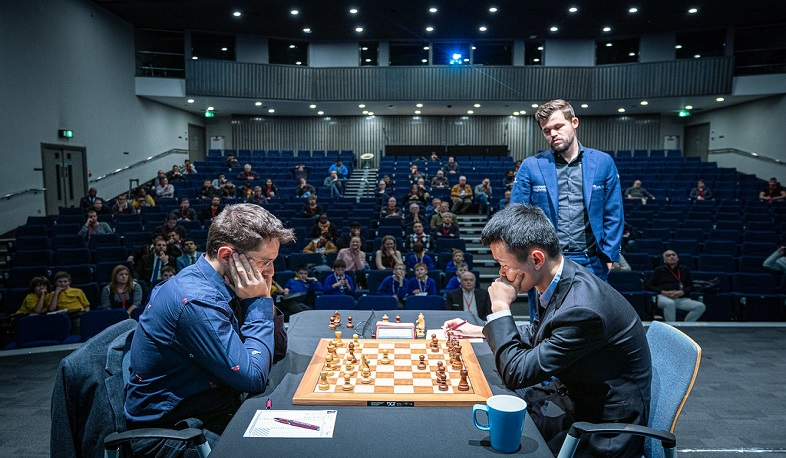 Levon Aronian ends second game in a draw at Grand Chess Tour