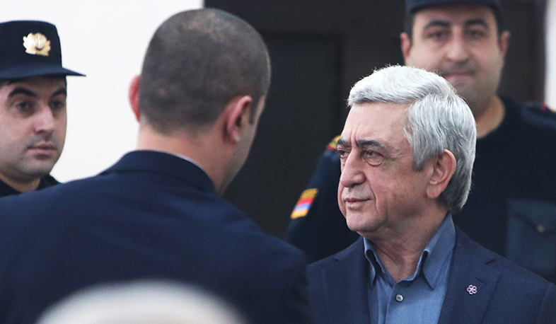 The court session on the case of former president Serzh Sargsyan will take place tomorrow